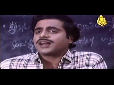 Ambarish | Kannada Mass Dialogues In College Scene | Elu Sutthina Kote Kannada Movie