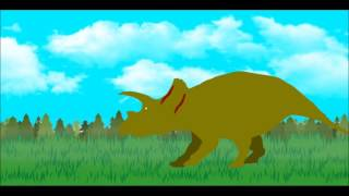 PPBA Tyrannotitan Vs Triceratops