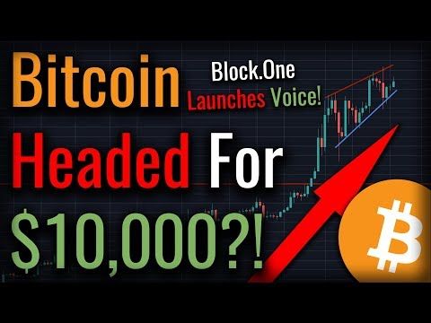 Will This Pattern Send Bitcoin To $10,000? Block.One Launching Social Media Service!