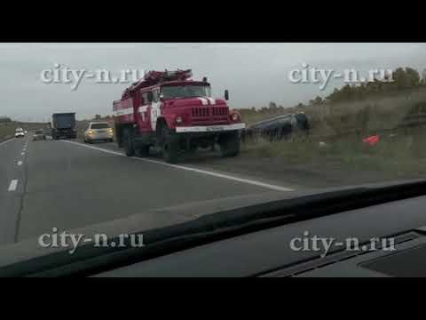 На трассе Кузнецк-Запсиб перевернулся автомобиль