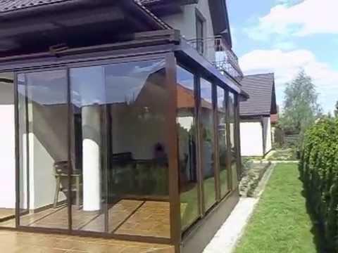 zabudowa tarasu dach poliw glanowy youtube. Black Bedroom Furniture Sets. Home Design Ideas