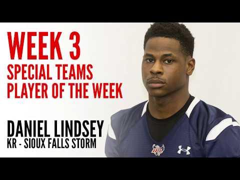 Week 3 Special Teams Player of the Week: KR Daniel Lindsey