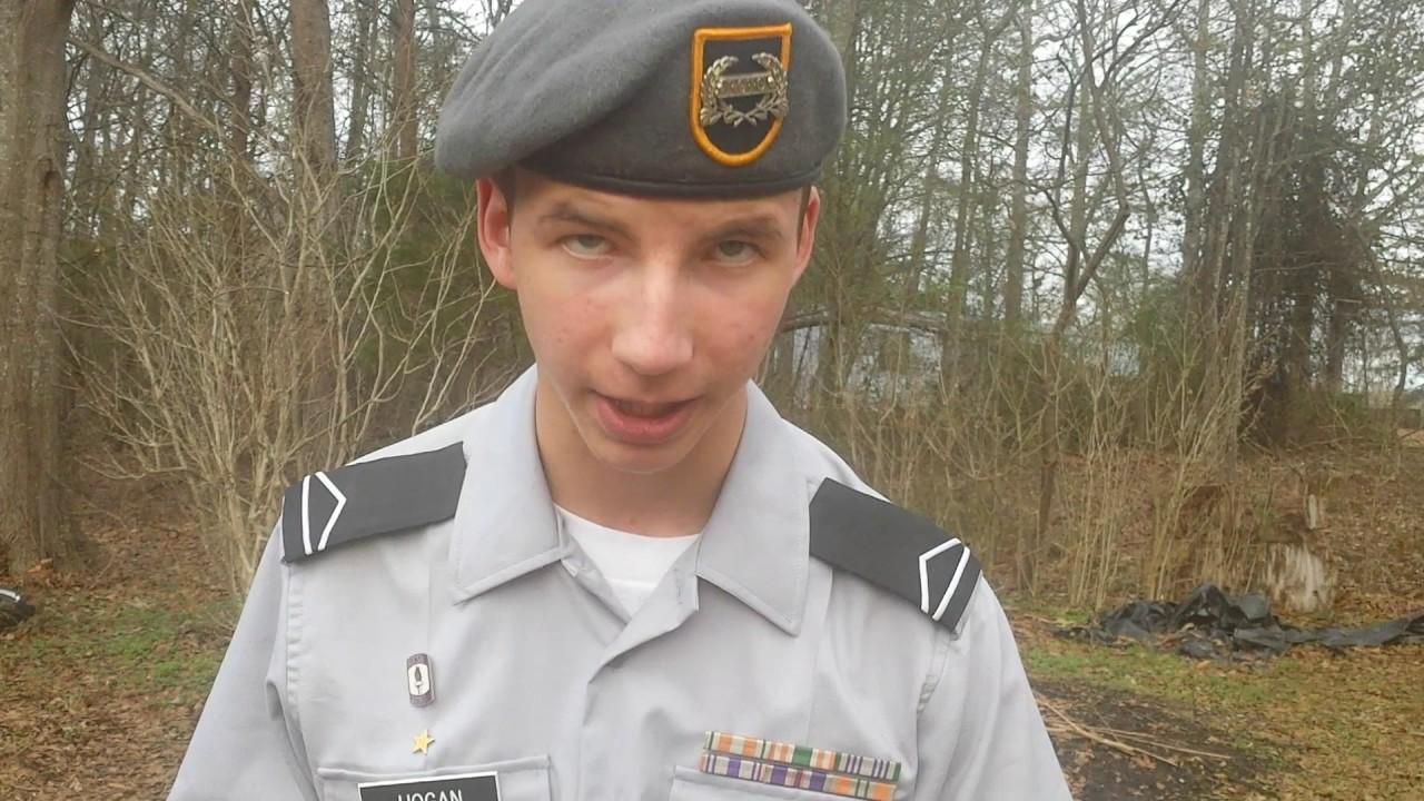 Male Army Shirt Cadet Uniform Jrotc