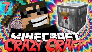 Minecraft CRAZY CRAFT 2.0 | Evil Chickens!! [7]
