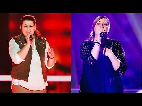 Tiziana Gulino vs. Michelle Imhof - Knockout - The Voice of Switzerland 2014