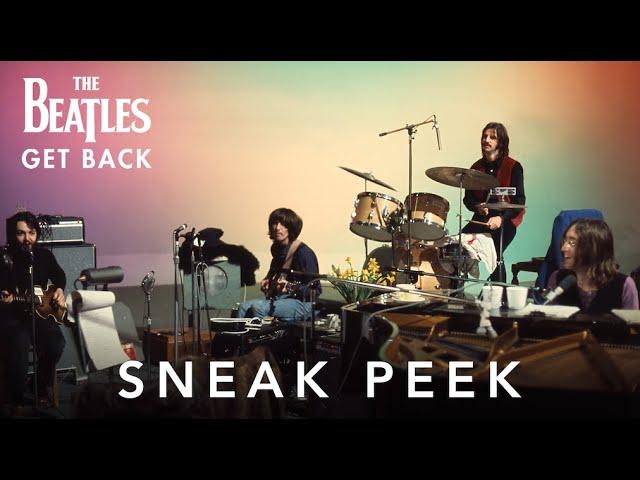 "PETER JACKSON REVEALS SNEAK PEEK OF HIS UPCOMING MUSIC DOCUMENTARY""THE BEATLES: GET BACK"""
