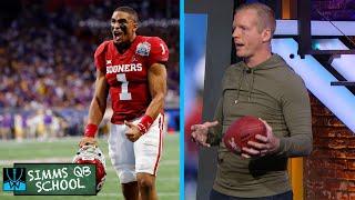 Chris Simms QB School: NFL Draft prospect QB Jalen Hurts | Chris Simms Unbuttoned | NBC sports