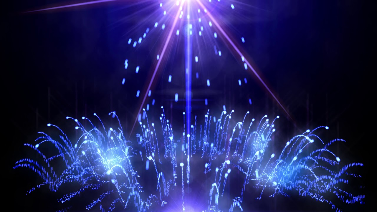 4k Moving Background Falling Sparks Aavfx Purple Blue Live Wallpaper