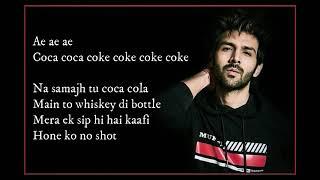 Luka Chuppi: COCA COLA Song (lyrics)