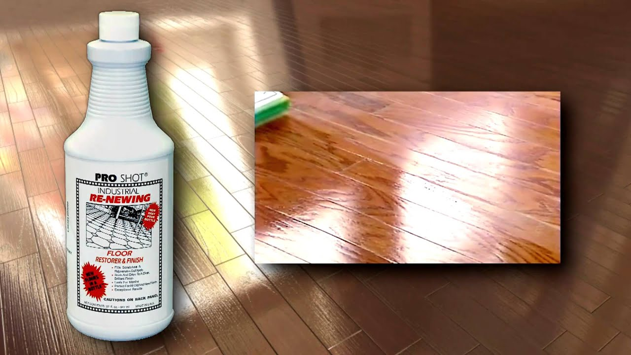 Refinish a hardwood floor no sanding no mess youtube solutioingenieria Gallery