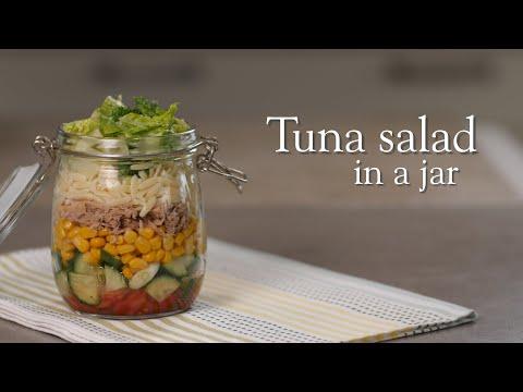 Slimming World Syn Free tuna salad in a jar - FREE