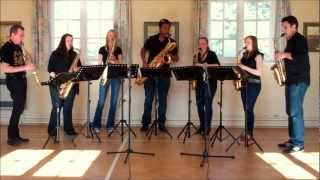 The Skye Boat Song – saxophone ensemble (septet)