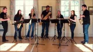 The Skye Boat Song – saxophone ensemble (septet)