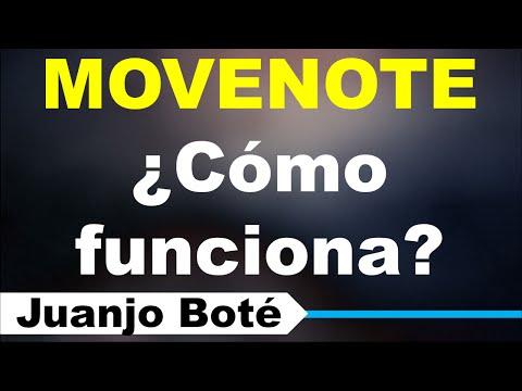 Cómo Funciona Movenote (Video + Presentacion sincronizada)