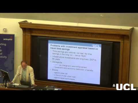 The Myth of Travel Time Savings | Prof. David Metz