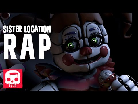 "Thumbnail: FNAF SISTER LOCATION RAP by JT Machinima - ""You Belong Here"""