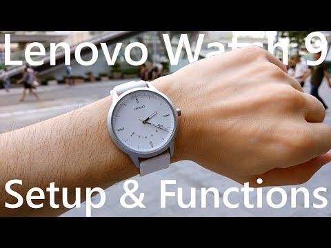 Lenovo Watch 9 Setup and Functions ⌚ - YouTube