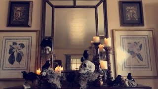 Halloween Mantel Ideas / How To Decorate Your Mantel / live your style