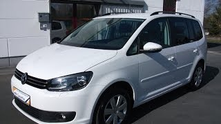 VW Touran 1.6 TDI BlueMotion Comfortline - Candy Weiss