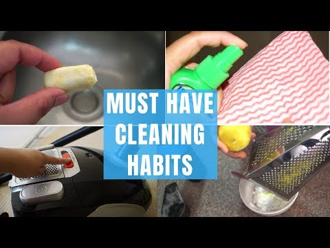 10 Must Have Good Cleaning Habits That Are Ignored | House Cleaning Habits| Indian Mom & SAHM