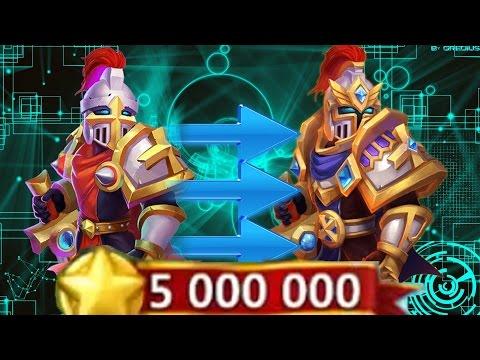 Castle Clash Evolving Paladin Level 200