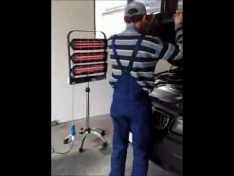 Pannelli radianti a infrarossi per riscaldamento youtube for Pannelli radianti infrarossi portatili