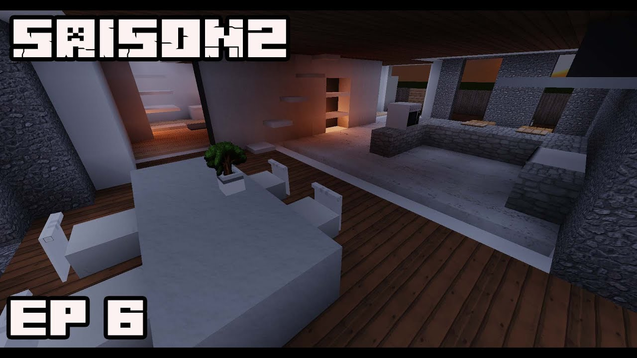 Ville minecraft s2 d coration d 39 une maison moderne 6 for Deco maison moderne youtube