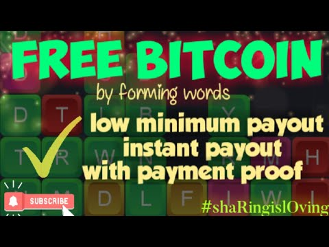FREE BITCOIN instant payout CRYPTOWORD