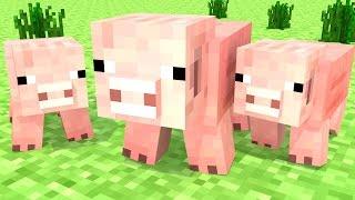 Minecraft Survival - OS TRÊS PORQUINHOS #16