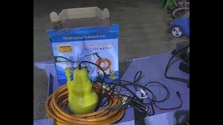 تعلم كيفية تعديل مضخة الماء الصغيرة حجم 12 فولت وطاقة 80 وات