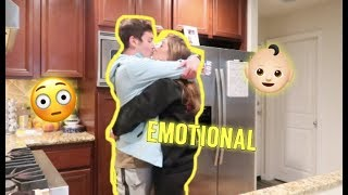 I WANT A BABY NOW PRANK ON BOYFRIEND *HE GETS EMOTIONAL*
