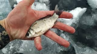 Зимняя Рыбалка на озере Глубокое Предновогоднее путешествие 2020