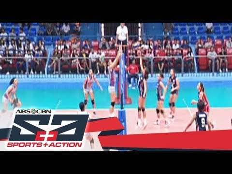 The Score: NCAA Season 93 Women's Volleyball tournament update