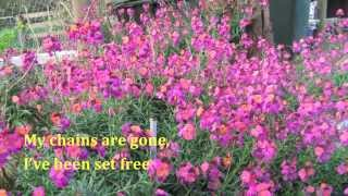 Amazing Grace, My chains are gone (lyrics) Michael W Smith