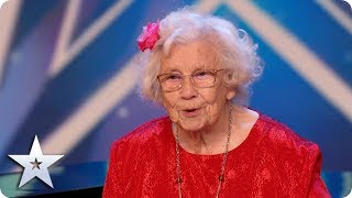 FIRST LOOK: Nora Barton captivates the audience with her charm! | BGT 2020