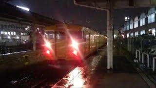 JR西日本115系8両編成(L-07編成+L-21編成)広島にて
