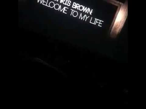 Chris Brown -  Welcome to My Life Ft. Cal Scruby (Preview)