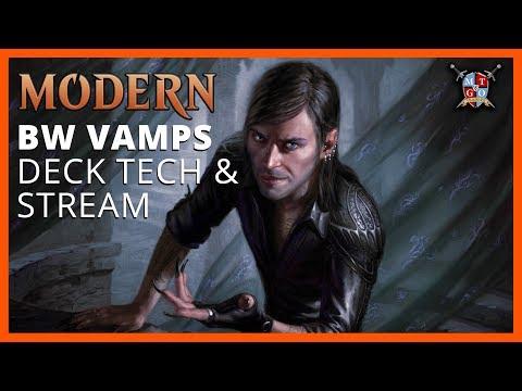 Modern BW Vampires Deck Tech and Stream