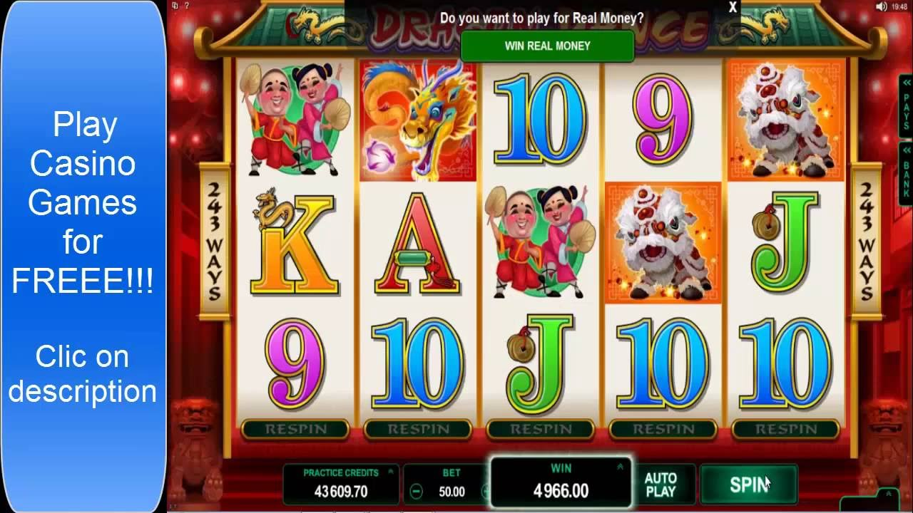 Free Casino Games Win Real Money