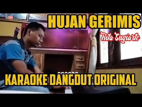 Tuman Karaoke Dangdu 2019 Hujan Gerimis Rita Sugiharto [Vidio Lirik]