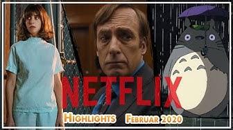 NEU auf NETFLIX - Die besten Filme und Serien im Februar 2020