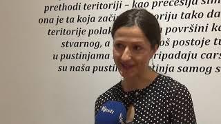 BOJE JUTRA - UKLJUČENJE: IZLOŽBE CENTRA SAVREMENE UMJETNOSTI- TV VIJESTI 23.01.2020.