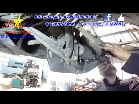 How To Install Replace Front Lower Ball Joint LEXUS GS300 3.0L 1997~2005 2JZ-GE A650E