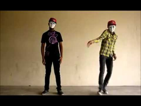 Liquid Robotic Dance. Dubstep