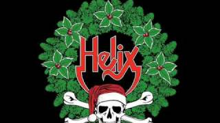 Happy Christmas (War is Over) - hard rock cover by Helix w/ Lyrics