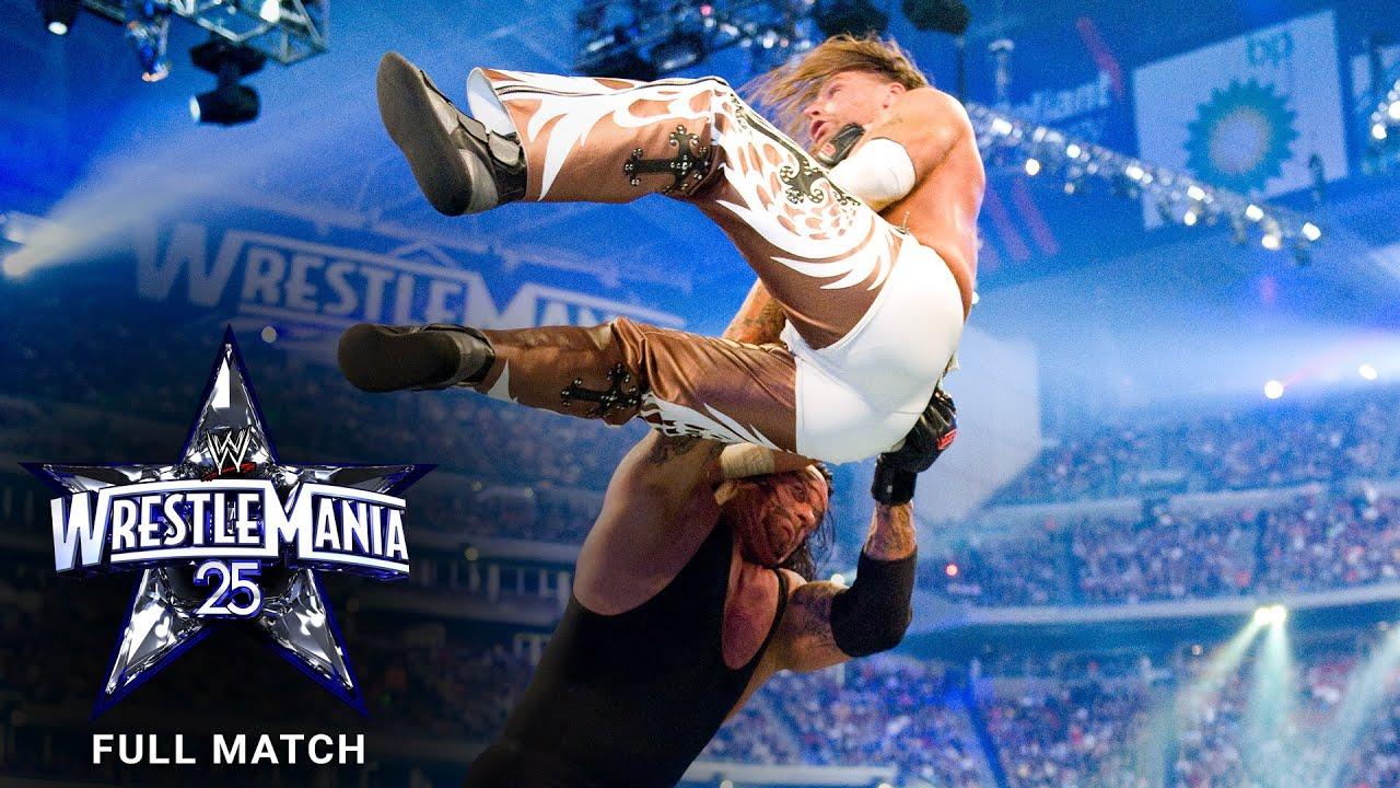 Download FULL MATCH - Undertaker vs. Shawn Michaels: WrestleMania XXV