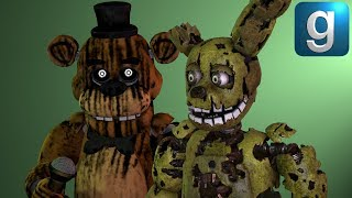 Gmod FNAF Brand New FNAF 3 Help Wanted Pill Pack Early Access