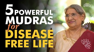 5 Best Mudra's for Total Wellness | Dr. Hansaji Yogendra