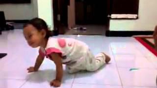 anak bayi dan balita belajar mengenal allah lucu banget