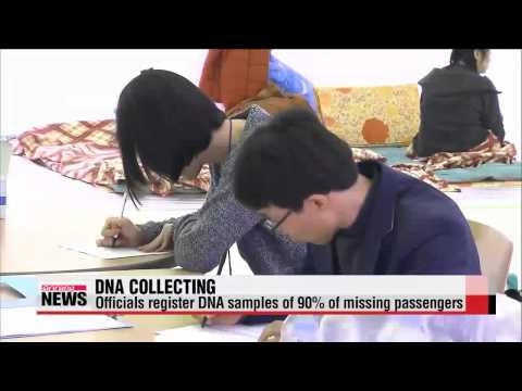 Medical staff collect DNA samples from relatives of missing passengers